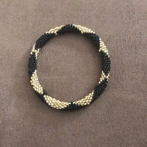 Lily & Laura Gold and Black Bracelet